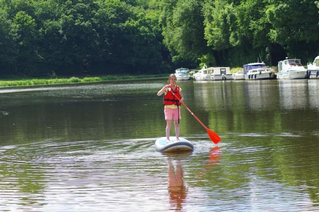 Voguer sur les rivières