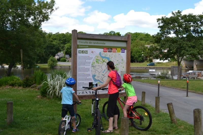 Vélo Canal Guenouët
