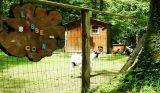 Camping le Bois de Beaumard à Pontchteau en Brière - proche de l'axe Nantes Vannes - Basse cours