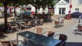 Crêperie la fontaine centre ville de Missillac terrasse