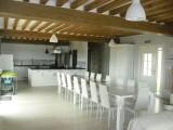 Cuisine salle à manger Gite de groupe à Ste Reine de Bretagne