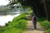 Randonneur Canal de Nantes à Brest