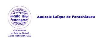 Logo Amicale Laïque de Pont-Château
