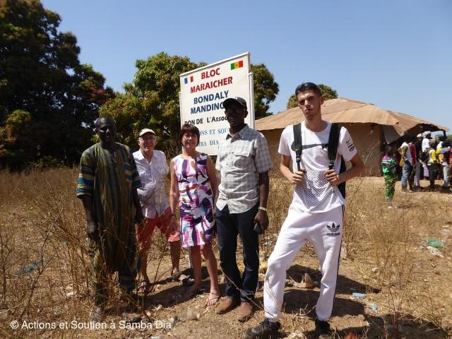 Actions et soutien à Samba Dia
