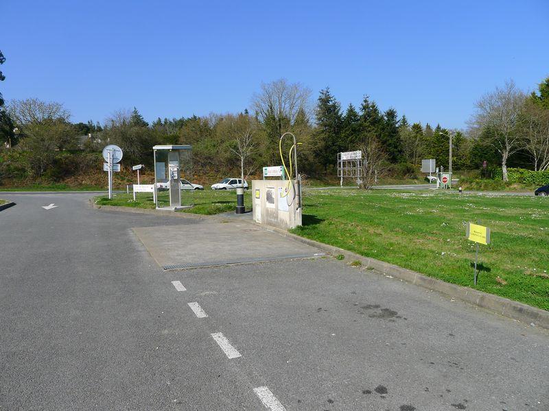 Aire pour camping-cars de Missillac en Brière au bord de l'axe Nantes Vannes