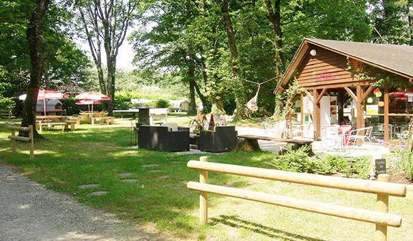 Camping le Bois de Beaumard à Pontchteau en Brière - proche de l'axe Nantes Vannes - Coin détente