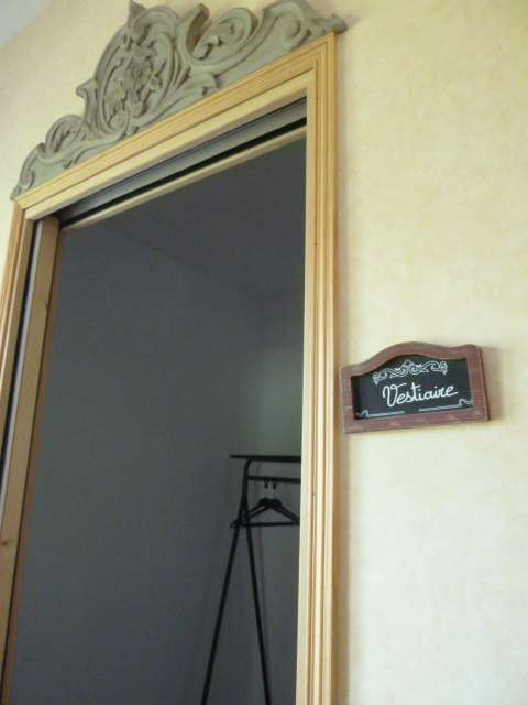 Gîte de la Brissais vestiaire