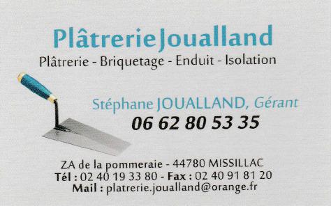 Plâtrerie Joualland