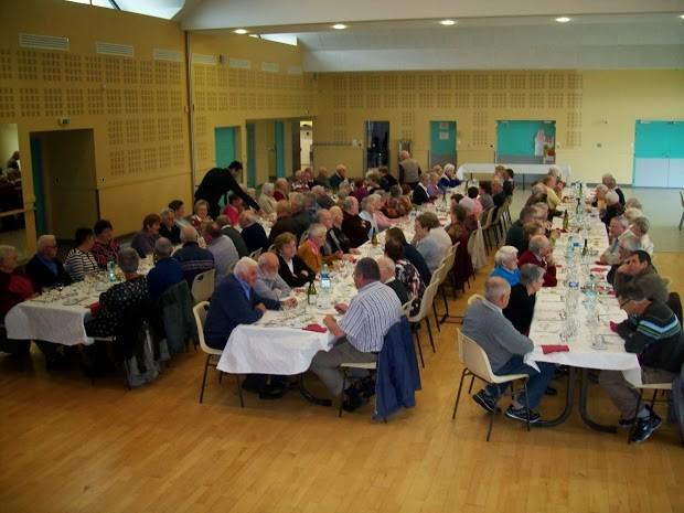 Repas Amicale des Retraités à Missilac
