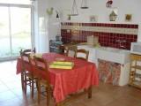 gîte à St Gildas des Bois cuisine ouverte