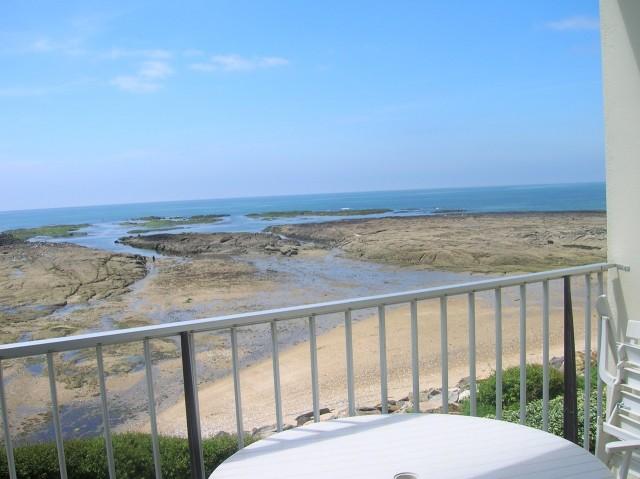 Appartement 6 personnes - Mme Niel-balcon-vue-mer