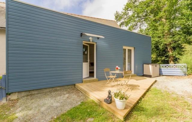 gîte studio les mésanges bleues près du Canal de Nantes à Brest