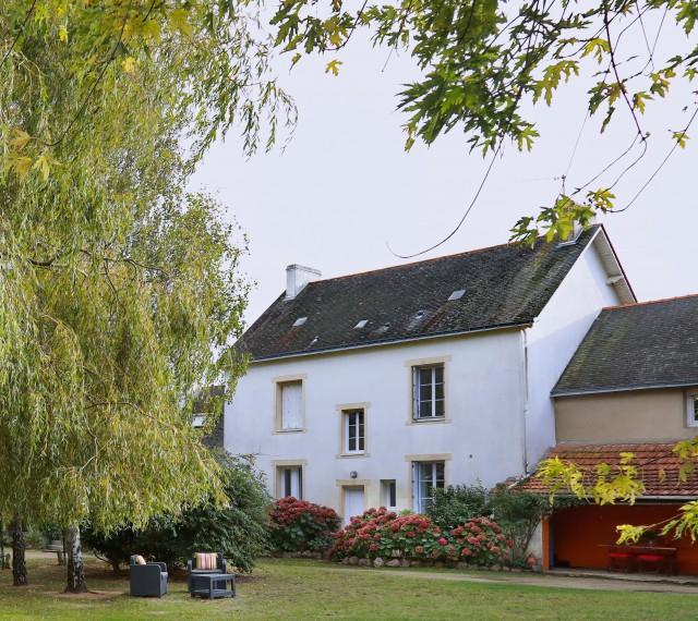La Moussette - maison vue jardin - La Baule