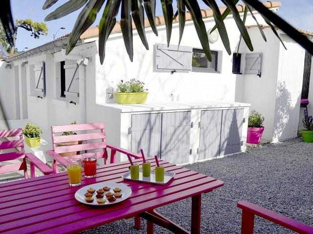 Location de vacances - Le Temps des Vacances - jardin - La Baule