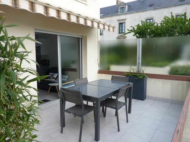 Terrasse location Petiteau Batz-sur-Mer 2016