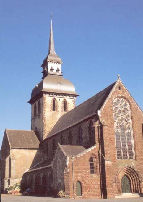 abbatiale de St Gildas des Bois