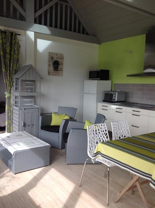 Gîte à St Guillaume à Pont-Château séjour cuisine