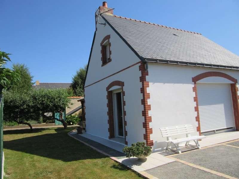 Legeay Guenrouët - maison de l'exérieur et terrasse