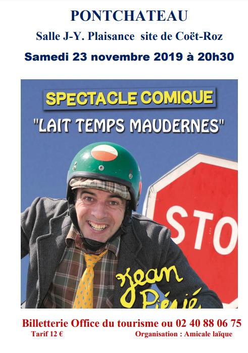 Spectacle comique Jean Piépié